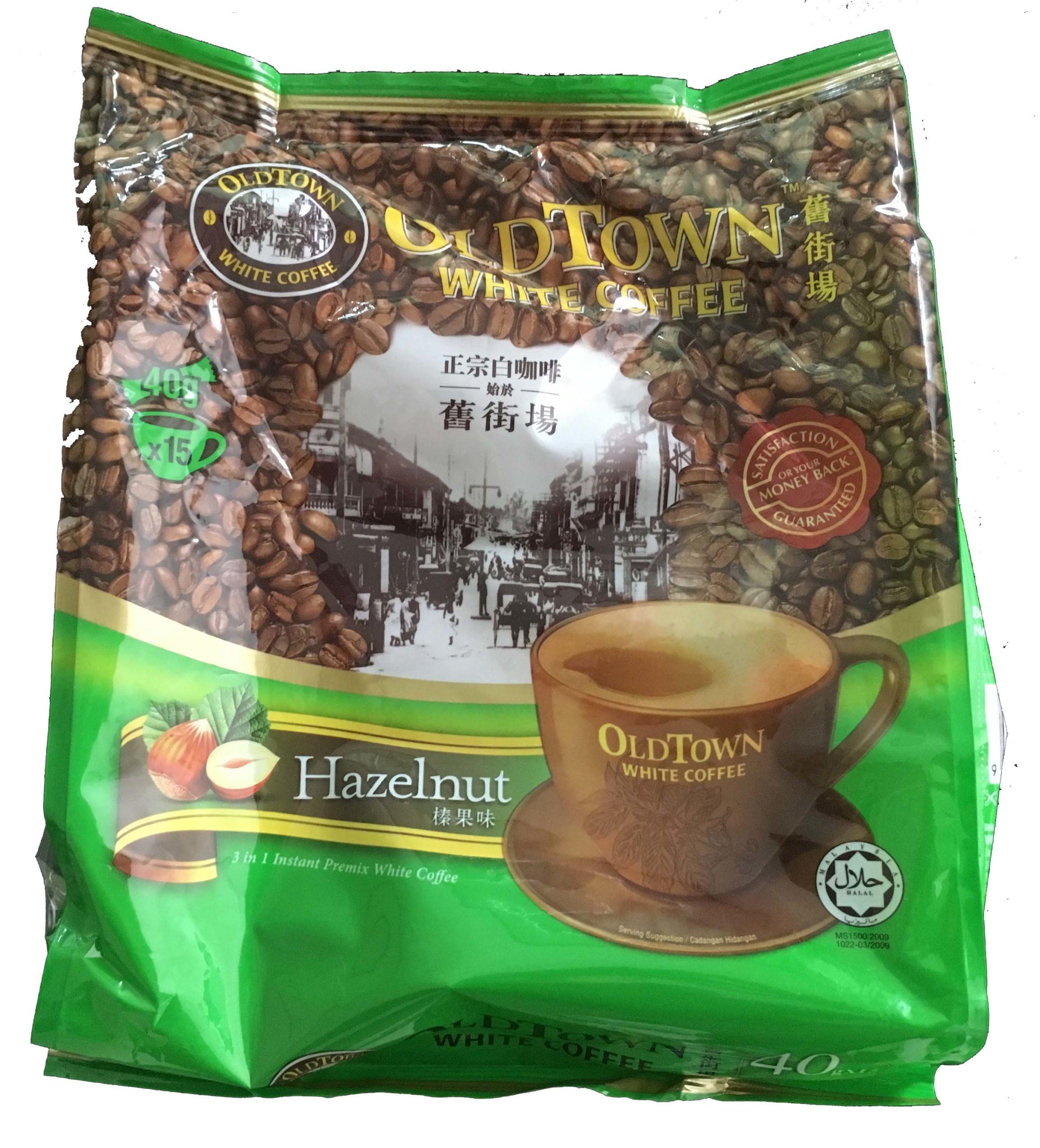 White Coffee Hazelnut